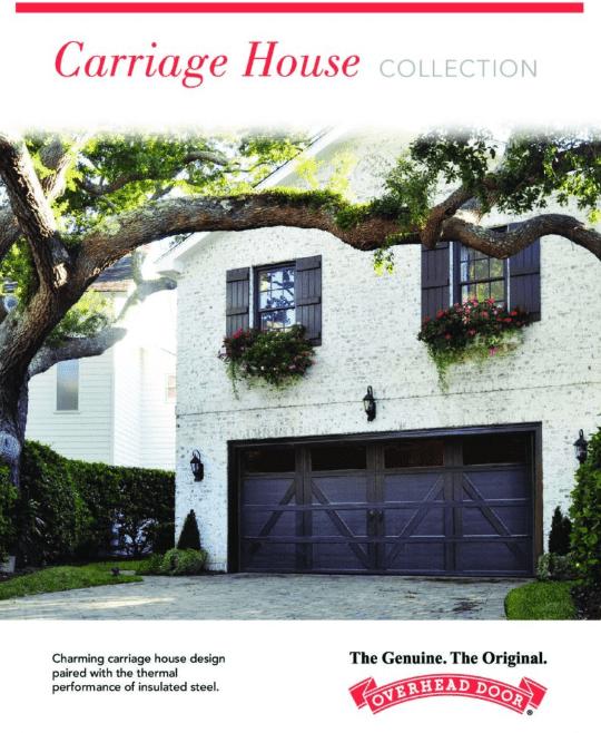 , Carriage House Collection, Overhead Door Company of Battle Creek & Jackson