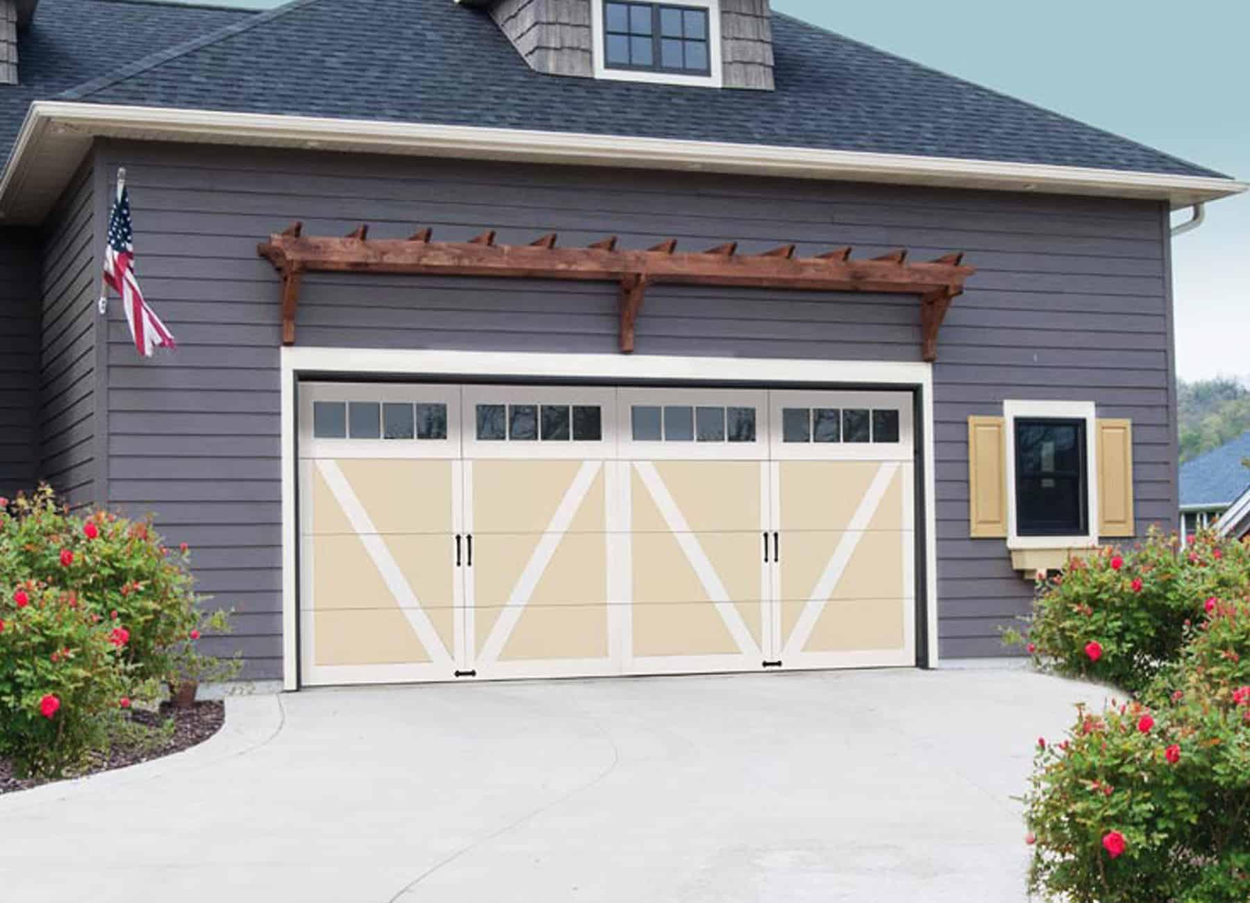 , Courtyard Wind Load Garage Doors, Overhead Door Company of Battle Creek & Jackson, Overhead Door Company of Battle Creek & Jackson