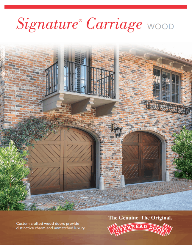 , Signature® Carriage Collection Garage Doors, Overhead Door Company of Battle Creek Jackson & Ann Arbor