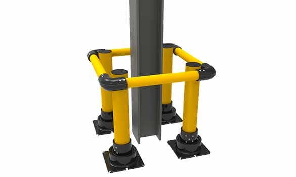 Impact Recovery Bollards, Bollards and Protection Equipment, Overhead Door Company of Battle Creek Jackson & Ann Arbor