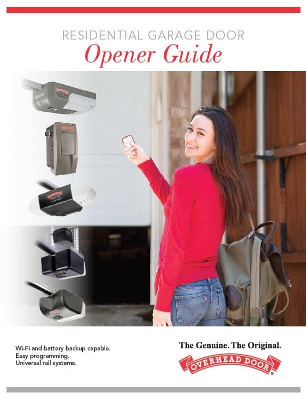 Garage door openers, Garage Door Openers, Overhead Door Company of Battle Creek Jackson and Ann Arbor